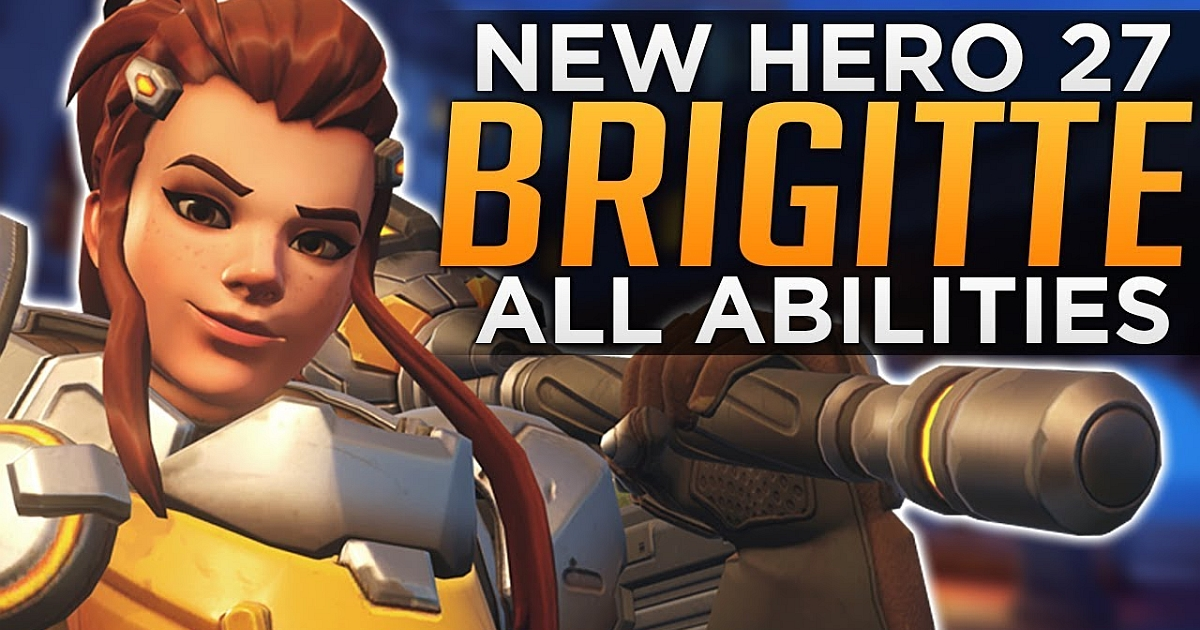 Brigitte: Newest Overwatch Hero