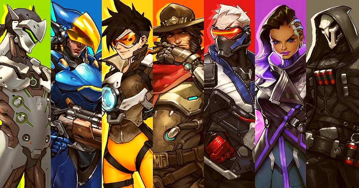 Overwatch celebrates an Anniversary event